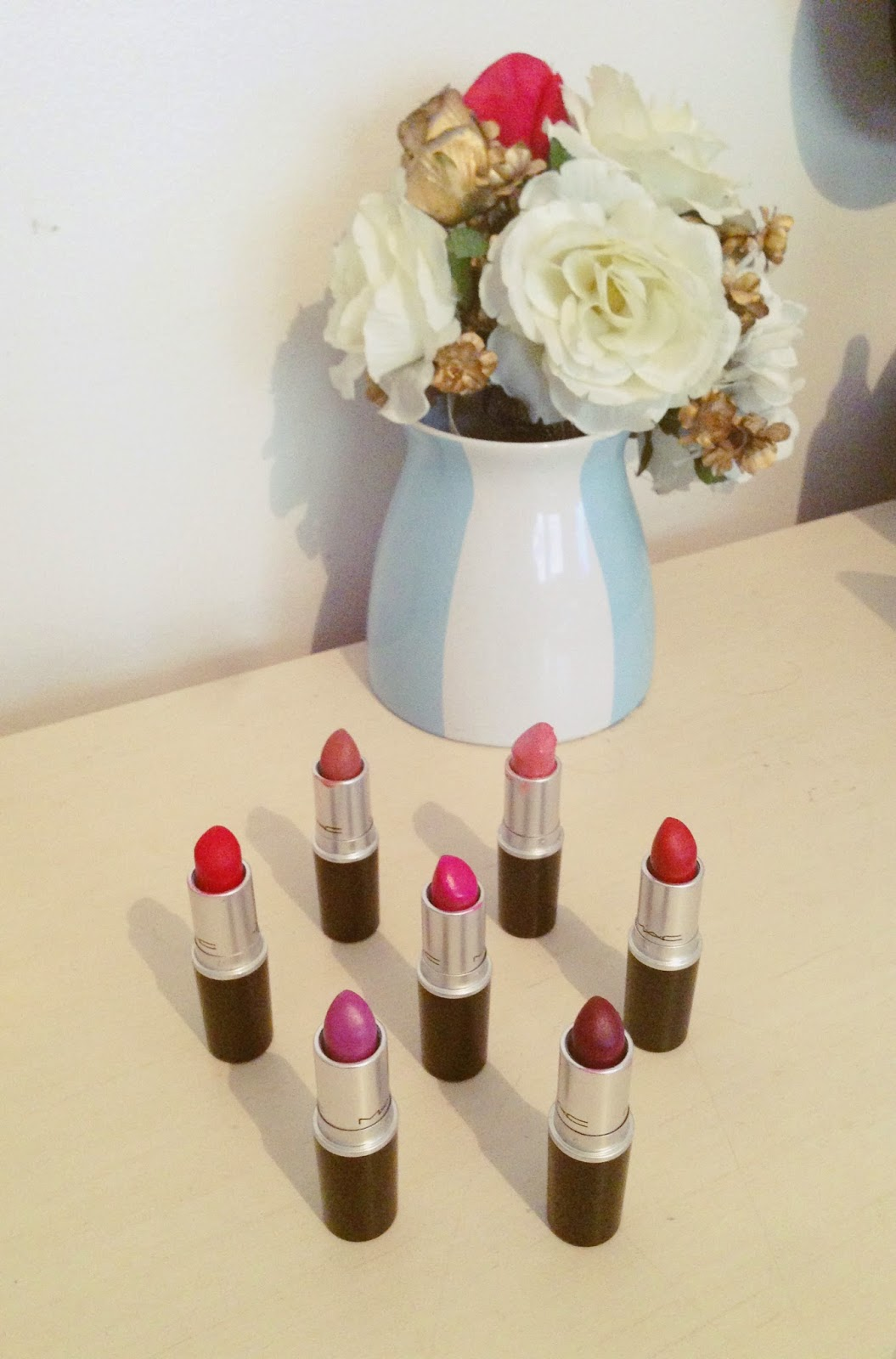 My Mini MAC Lipstick Collection